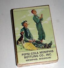 NEW   #3 NEVER OPENED PEPSI COLA DECK OF PLAYING CARDS (COCA COLA, COKE, PEPSI)