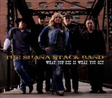 What You See is What You Get [Digipak] by The Young Evils/The Shana Stack Band (