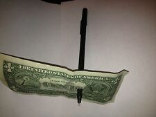 Pen Thru Bill close-up magic trick - Pen Through Dollar - Perfect Penetration