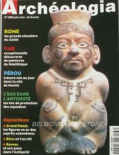 Archéologia n°368 - 2000 - Saint-Romain-en-Gal - Rennes - Blois - Les Aqueducs -