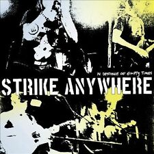 STRIKE ANYWHERE-IN DEFIANCE OF EMPTY TIMES  VINYL LP NEW
