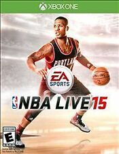 NBA LIVE 15 XBOX ONE EA SPORTS BRAND NEW, FACTORY SEALED NBA VIDEO GAME