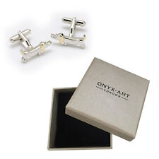 Mens Sausage Dog Dachshund Cufflinks & Gift Box By Onyx Art