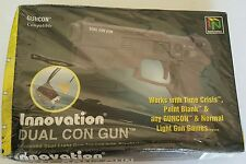 NEW W/Crushed box Sealed Dual Con for Sega Saturn or Playstation 1 Light Gun