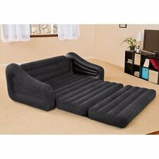 Pull Out Sofa Futon Sleeper Air Bed Couch Mattress Dorm Queen Inflatable Blow Up