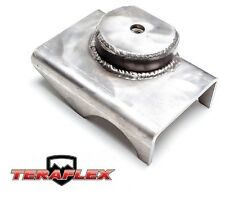 TeraFlex TJ Front Axle Bracket Spring Pad - Driver Side for 97-06 Jeep Wrangler
