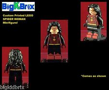 SPIDER WOMAN DC Comics Custom Printed LEGO Minifigure NO DECALS USED!
