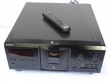 Sony CDP-CX355 Three Hundred 300 Disc CD Compact Auto Changer + Remote Control