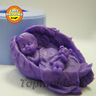 Baby Wings 3d Soap Mold Silicone Molds Mold for Soap Mold Angel Free Shipping