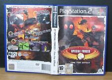 CT SPECIAL FORCES: FIRE FOR EFFECT - PS2 - PlayStation 2 - PAL - Italiano Usato