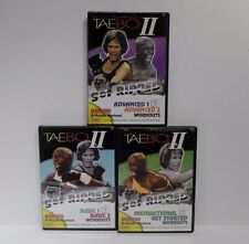 Tae Bo II Introduction Basic 1 & 2 & Advanced  1 & 2 3 DVD Set Cardio Workout
