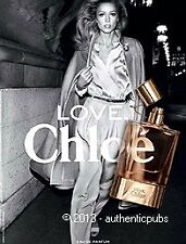 PUBLICITE EAU DE PARFUM LOVE CHLOE DE 2011 FRENCH AD ADVERT PRINT PERFUME PUB