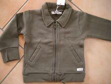 (47) Imps & Elfs unisex Baby Sweatjacke + Einschub Taschen & Logo Aufnäher gr.86