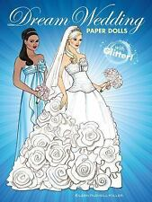 Dover Paper Dolls: Dream Wedding Paper Dolls with Glitter! by Eileen Rudisill...