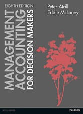 Management Accounting for Decision Makers, Attril and McLaney, 8th edition