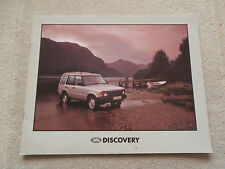 Land Rover Discovery 1990-91. Brochure V8i TDi Pub. No. LRD 557. Near MINT