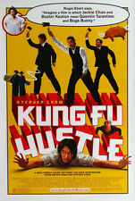 KUNG FU HUSTLE MOVIE POSTER 2 Sided ORIGINAL 27x40 STEPHEN CHOW WAH YUEN