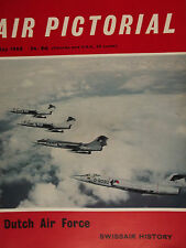 AIR PICTORIAL MAGAZINE, MAY 68 feat DUTCH AIR FORCE, SWISSAIR HISTORY & MORE