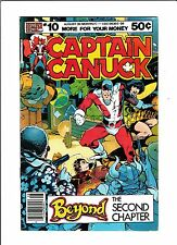 "Captain Canuck No.10  : 1980 :   : ""Beyond The Second Chapter"" :"