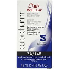 Wella Color Charm Liquid Haircolor 3a/148 Dark Ash Brown, 1.4 oz
