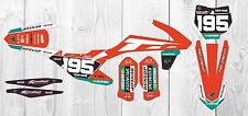 KTM SXF SX 2016 - 2017 125 250 350 450 Graphics KIT  Customised motocross gopro