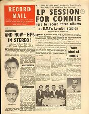 RECORD MAIL NEWSPAPER 1959 09 SEPTEMBER frank cordell/kevin scott/don lang pic