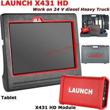 Launch X431 HD Module + Android Tablet For  24 V Heavy Duty Diesel Truck Scanner