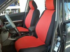 mix LEATHERETTE and SYNTHETIC TWO FRONT CUSTOM CAR SEAT COVERS SELECT COLORS