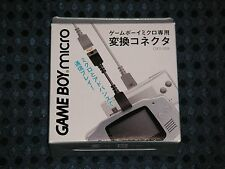 Official Nintendo Gameboy Micro Link Cable Adapter OXY-009 GBA Advance Connector