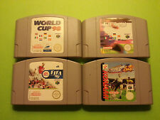 4 Soccer / Football games for N64 PAL FIFA ISS