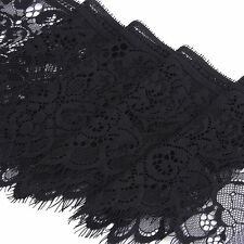 B3 Wide Lace Trimming DIY Sewing Applique 3 Yard 19cm