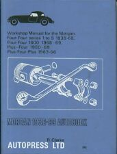 MORGAN 4/4 SI - V 4/4 1600 PLUS 4 & PLUS 4 PLUS 1936 - 1969 OWNERS REPAIR MANUAL