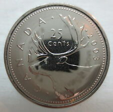 2003WP CANADA 25 CENTS PROOF-LIKE COIN