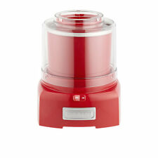 NEW Cuisinart Ice Cream & Frozen Yoghurt Maker 1.5L Red (RRP $139)