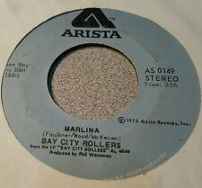 Bay City Rollers ‎– Saturday Night / Marlina