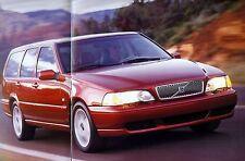 """2000 - VOLVO """"V70"""" - V70 GLT, V70 R, V70 XC AWD - USA sales brochure, prospekte"""