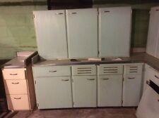 Vintage Kitchenmaid kitchen cabinets 1950s retro/restore