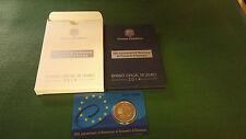 ANDORRA 2 EURO 2014 - 20 JAHRE EUROPARAT POLIERTE PLATTE PP