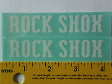 2PCS Rock Shox weather proof vinyl decal bike stickers 2 sizes many colors
