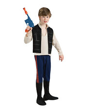 "Star wars kids han solo costume style 1, grand, 8-10 ans, hauteur 4' 8"" - 5'"
