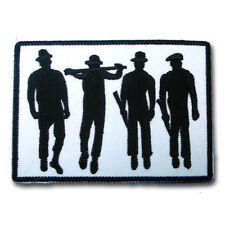 Clockwork Orange Boot Boys Gang applique Embroidered Patch Iron on Rockabilly