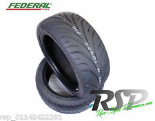 2 x NEW 255 35 18 FEDERAL 595-RSR 90W TRACK ROAD TYRE 255/33/ZR18 Sheffield