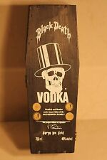 Black Death Vodka Coffin Box Rare Slash from GNR Endorsed