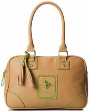 NEW ARRIVAL US POLO ASSOCIATION USPA ASCOT VACHETTA SATCHEL BOWLER BAG PURSE $69