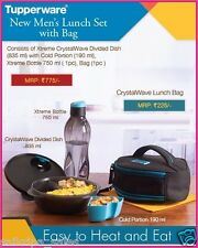 TUPPERWARE MEN's LUNCH SET (WITH BAG)