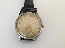 Vintage Rare STOWA Ancre Oversized WWII German Military Watch period 40's