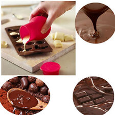 High Quality Silicone Chocolate Melting Moulds Butter Sauce Milk Baking Pouring