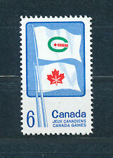 CANADA 1969 CANADIAN GAMES SG641 BLOCK OF 4 MNH