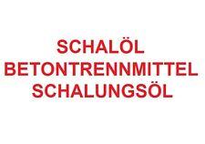 200 L FASS SCHALÖL / SCHALUNGSÖL / BETONTRENNMITTEL / UNIVERSAL TRENNMITTEL