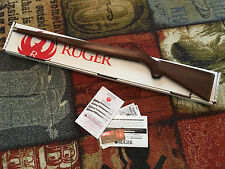 NEW OEM Factory Ruger 10/22 Stainless Mannlicher Walnut Stock with box & manual!
